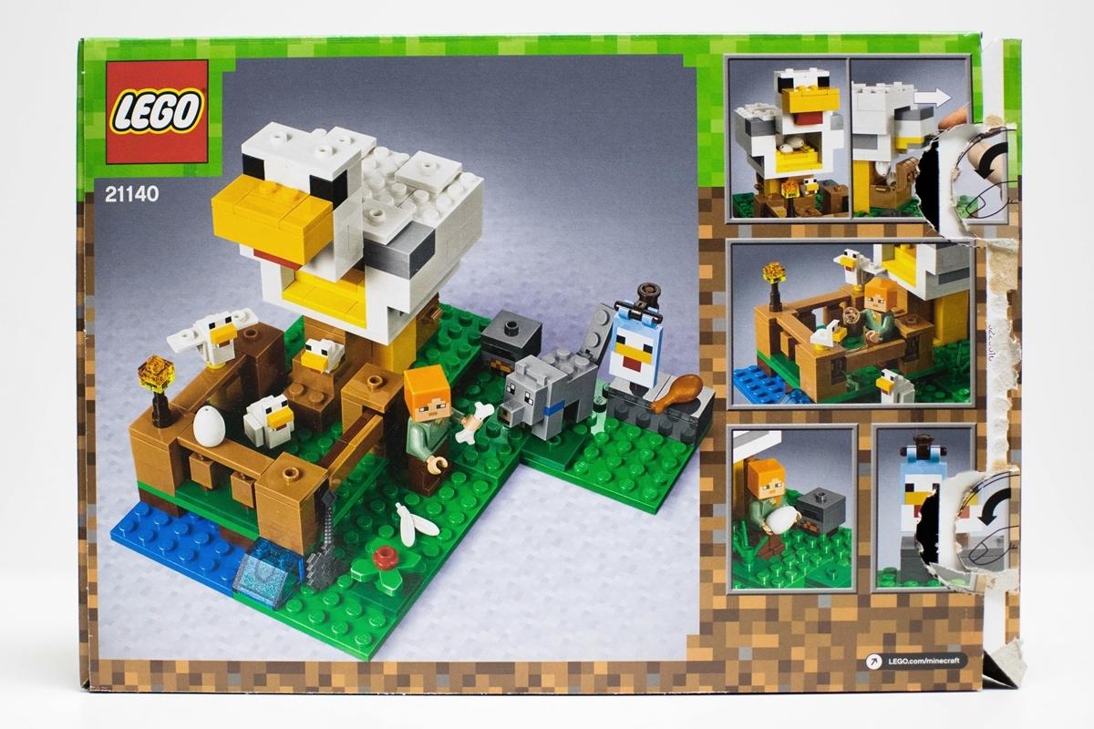 Kuracie dom Lego Minecraft 21140 - recenzia