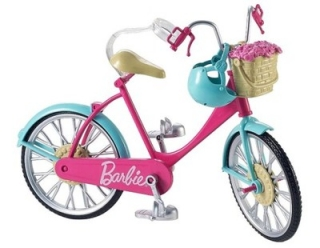 Bábika barbie - BARBIE MATTEL BIKE pre DOLLAR BARBIE DVX55