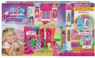 Bábika barbie - Barbie Palace sladkosti DYX32 Cottage Doll
